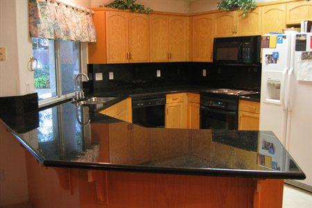 New Black Galaxy Countertops Woodlands Texas 77382 Residential